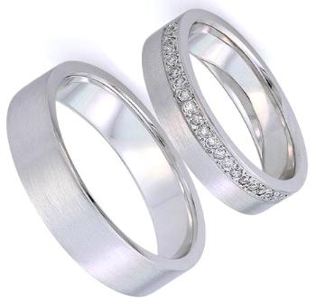 Обручальные кольца из белого золота купить в Краснодаре недорого a56484e1918